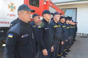 На Черниговщине завершилось украинско-польское обучение пожарных команд ОТГ
