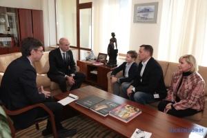Roman Souchtchenko a transmis une lettre au président français