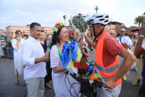 73-річний українець дістався велосипедом до Африки, бо скучив за донькою й онуками