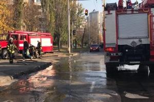 У Києві на Виноградарі на ходу загорівся тролейбус