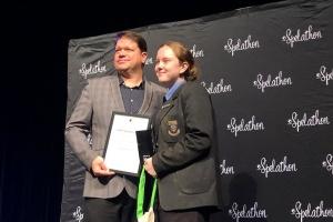 Українська школярка з ПАР здобула перемогу у змаганнях на найкращого знавця африкаанс