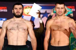 Boxen: Kampf Gvozdyk – Beterbiev: Wiegen und Duell der Blicke