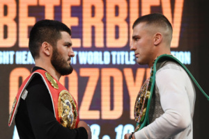 Букмекеры дали прогноз на боксерский бой Гвоздик - Бетербиев