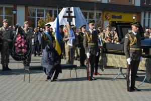 Загиблу на Донбасі військову Ярославу Никоненко поховали у Миргороді