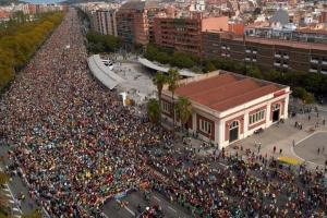 Протестувальники заблокували під'їзди до Барселони