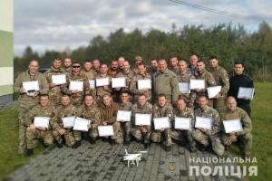 Льотні книжки операторів безпілотників отримали 140 поліцейських