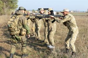 На Харківщині пройшли навчання резервістів