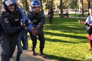 У Баку поліція затримала десятки активістів перед акцією протесту
