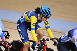 Украинка Соловей выиграла «бронзу» ЧЕ по велотреку