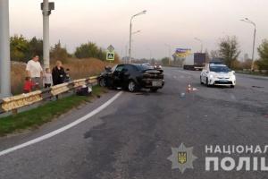 Под Днипром в ДТП погиб полицейский