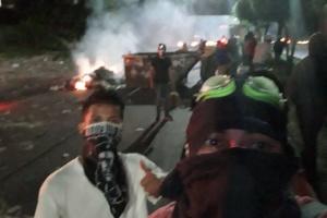 В Гондурасе на антипрезидентские протесты вышли тысячи людей
