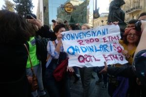 У Баку поліція не дала провести акцію щодо захисту прав жінок