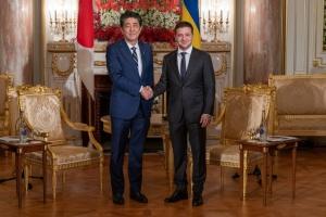 Zelensky se reúne con el primer ministro de Japón