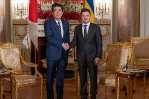 Zelensky meets with prime minister of Japan