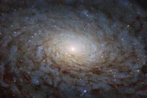 NASA показало знімок галактики, схожої на інший вимір