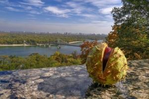 À Kyiv, l'été indien bat tous les records de température