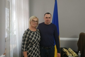 Denisova meets with Sentsov