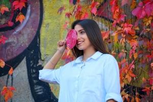 Ужгород превратился в цветную фотозону