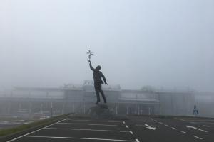 """В аеропорту """"Київ"""" через сильний туман затримуються рейси"""