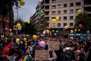 Протестувальники у Каталонії блокували дороги та залізницю