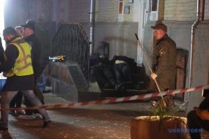 W centrum Kijowa wybuchł granat, są zabici