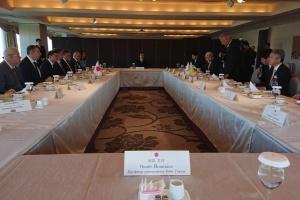 Зеленський зустрівся з головою парламентської асоціації дружби «Японія – Україна»