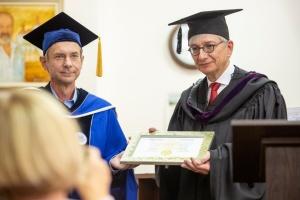 СКУ привітав Евгена Чолія з отриманням звання Почесного доктора Києво-Могилянської академії