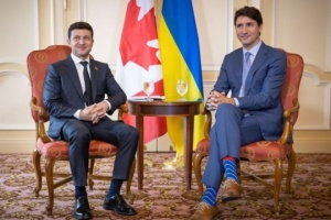 Zelensky congratulates Trudeau on election victory