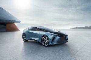 Lexus показав концепт футуристичного електрокара зі штучним інтелектом