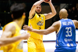 «Киев-Баскет» обыграл «Днепр» в Кубке Европы ФИБА