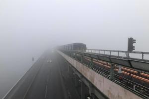 Синоптики прогнозують туман до кінця доби