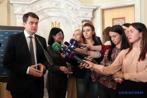 Разумков поки не обговорював з Іванісовим ситуацію з його судимістю