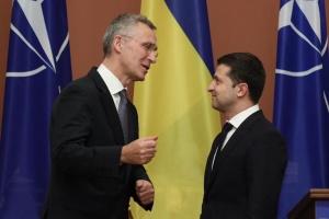 ゼレンシキー大統領、NATO事務総長に「私たちの次の目的は加盟行動計画」