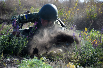Escalation in Donbas: 41 enemy attacks, one Ukrainian serviceman killed