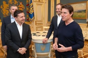 Zelensky a rencontré Tom Cruise à Kyiv (photos)
