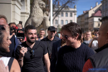 Tom Cruise viaja a Lviv