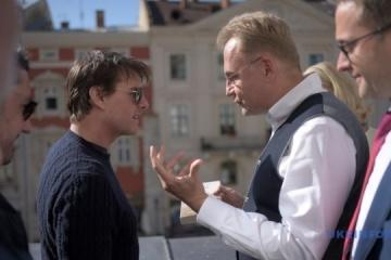 «Ville magique et pays magique: Tom Cruise a visité Lviv