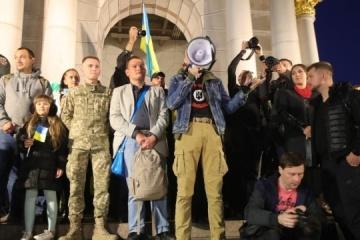 """""""Nie - kapitulacji"""" - na Majdanie zgłoszono pięć żądań władzy"""