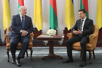 Zelensky y Lukashenko se reúnen en Zhytómyr