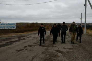 Police to remain on patrol in Zolote, Katerynivka despite disengagement of troops