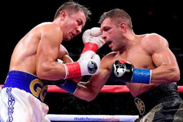 Boxen: Derevyanchenko verliert seinen Kampf gegen Golovkin