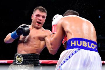 Boxen: Derevyanchenko glaubt, dass seine Verletzung Golovkins Sieg über ihn verholfen hat