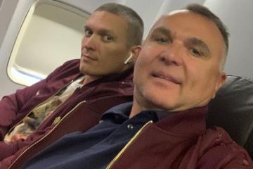 Boxen: Usyk nach Chicago zu seinem ersten Superschwergewichtskampf gekommen