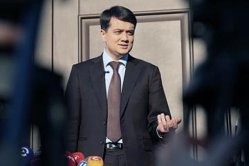 Razumkow przybył do Strasburga na konferencję szefów parlamentów państw RE