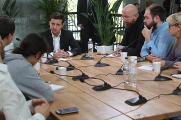 Zelensky on PrivatBank: I will protect interests of Ukraine