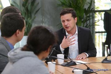 Volodymyr Zelensky: La question d'une mission de la paix sera abordée lors de la réunion au format Normandie