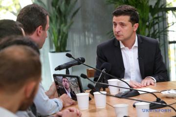 Zelensky: El error de Poroshenko es que cree que puede convertirse en el líder de otro Maidán