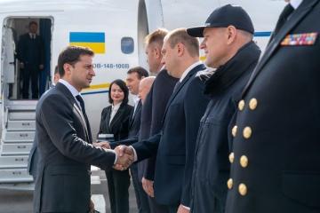 Volodymyr Zelensky llega a Odesa