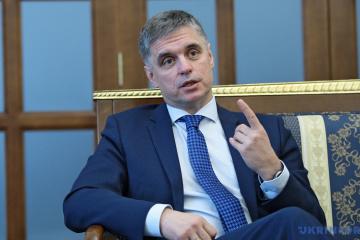 Vadym Prystaiko: L'agression russe contre l'Ukraine reste la principale menace à la paix en Europe