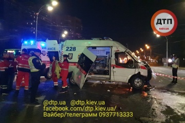 Kyjiw: Zwei Tote und ein Verletzter bei Unfall mit Rettungswagen